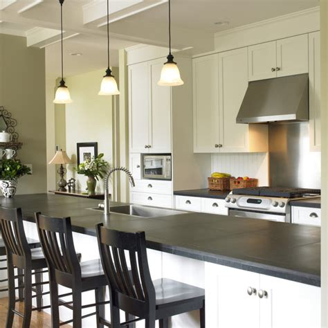Island Ideas For Kitchens slate countertops for your kitchen and bathroom