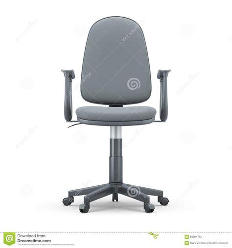 r馭rig駻ateur de bureau vue de de chaise de bureau illustration stock image
