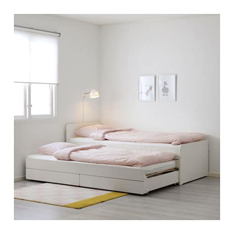 ikea pull out bed sl 196 kt pull out bed with storage ikea