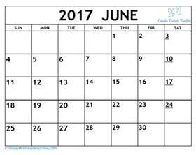 Calendar 2017 June Printable June 2017 Calendar Printable Template Pdf Uk Usa Canada