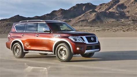 2017 Nissan Armada Full Size Suv Footage Youtube