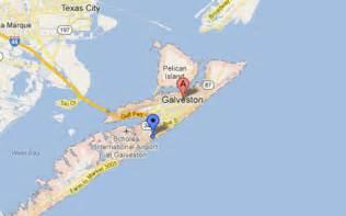 map of galveston island galveston tx the daytripper