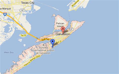 map of galveston island texas island map galveston hotel