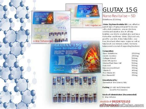 Glutax 15g glutax 15g nano revitalise glutathione for sale cebu city