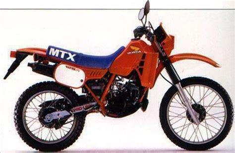 honda mtx motos honda de collection