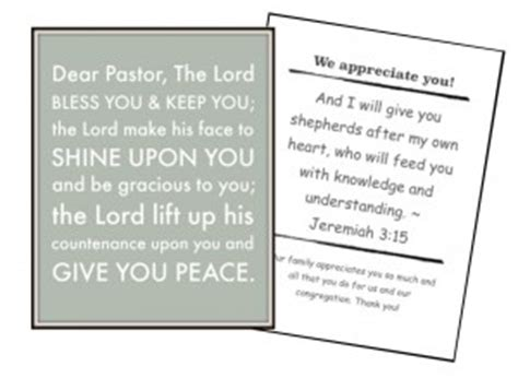 printable pastor anniversary cards free printables for pastor appreciation month