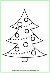 christmas tree coloring pages newhairstylesformen2014 com