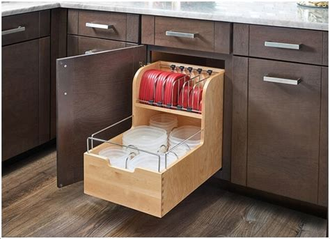 in cabinet storage solutions 15 clever tupperware storage solutions