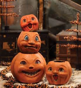 Halloween Vintage Decor Vintage Halloween Pumpkin Ideas