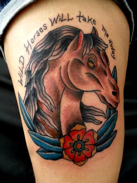 year of the horse tattoo designs tattoos ideas designs meaning busbones