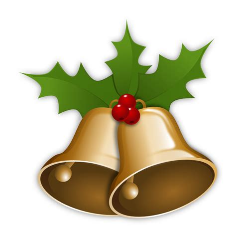 christmas bells transparent background