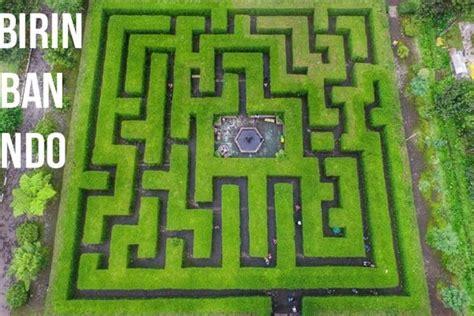 serasa main  maze runner inilah  taman labirin terbaik