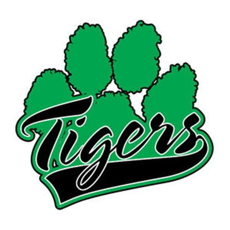 green tiger paws clipart best