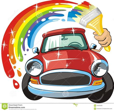 car painting free collision center clipart