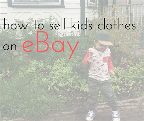 how to sell clothes on ebay also known as
