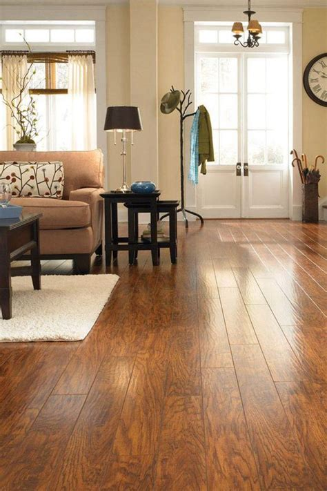 pergo xp highland hickory 10 mm thick x 4 7 8 in wide x 47 7 8 in length laminate flooring 13