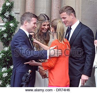 brian o'driscoll and amy huberman the wedding of model