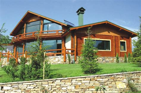 build your own log home   Cavareno Home Improvment