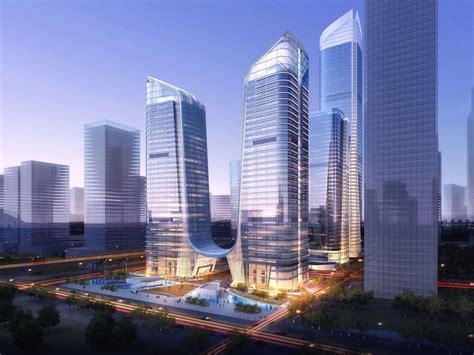 curtain city hong kong farrells set to masterplan shenzhen qianhai economic zone