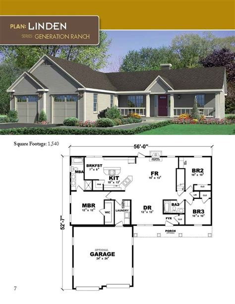 exle building plans developer 2 bedroom house 33 best images about generation ranch home plan series on