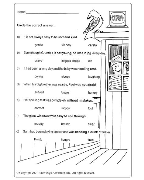 printable worksheets for year 3 english printables year 3 english worksheets kigose thousands of