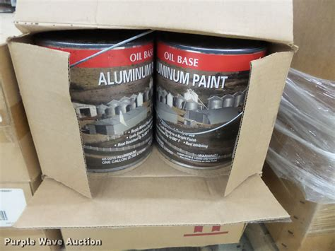 approx 84 gallon cans of menards aluminum paint item dc68