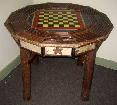 Checkers Table by Birch And Twig Checker Table