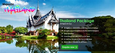 bangkok new year package thailand tourist visa services thai tour package from
