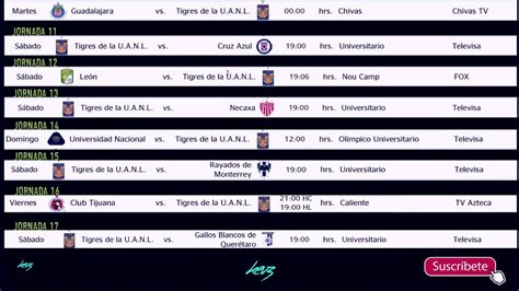 calendario de tigres 2015 2016 tigres uanl calendario apertura 2016 youtube