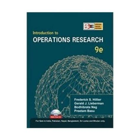 Operations Research Books For Mba Pdf by Pdf Epub Introduction To Operations Research Ebook