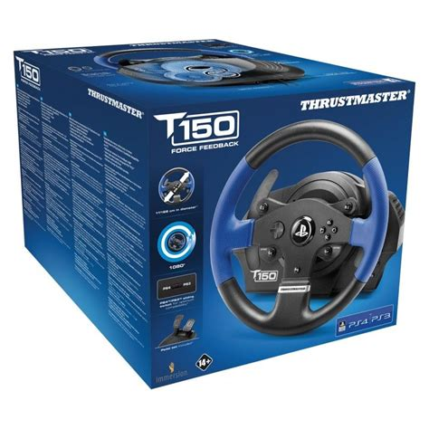 volante feedback thrustmaster t150rs feedback