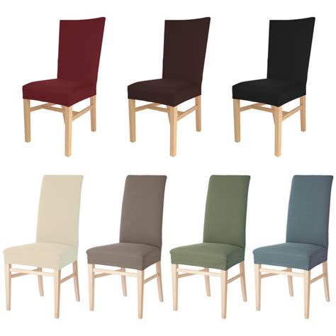 Stretch Dining Chair Seat Covers Aliexpress Buy Spandex Stretch Dining Chair Covers For Wedding Chair Cover Dining