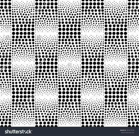 seamless geometric dots pattern stock vector art more seamless abstract dots geometric pattern stock vector