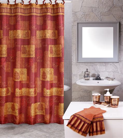inspirational shower curtain sets skane sessan bathroom set
