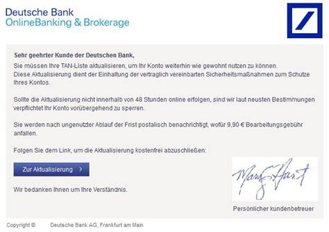 deutsche bank email deutsche bank onlinebanking brokerage gr 252 ne aktien