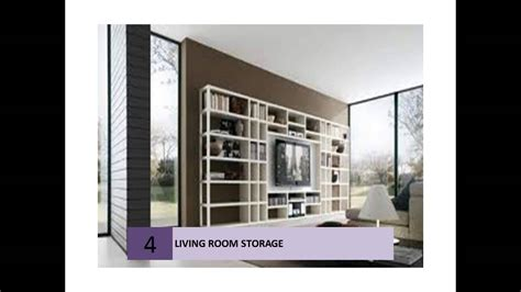 Livingroom Units by Clever Living Room Storage Ideas Youtube