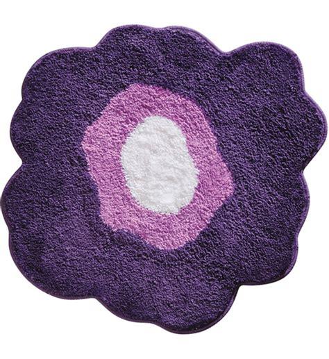 Flower Bath Rug Flower Bath Rug Purple In Bathroom Rugs