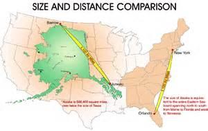 alaska map continental us just how big is alaska anyway matador network
