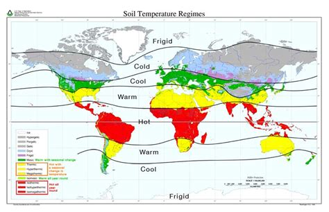 soil temperature map 9 global climate patterns