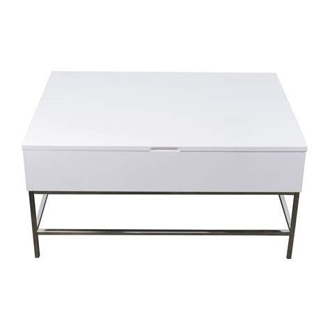 storage coffee table west elm 34 west elm storage table west elm white lacquer