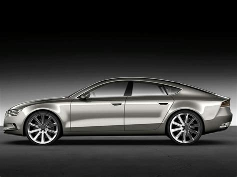 Audi Sportback Concept pre Detroit leaked images preview upcoming Audi A7 four door coupe