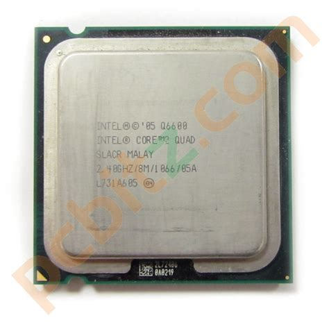 Intel Q6600 Sockel by Intel 2 Q6600 Slacr 2 40ghz 8m 1066 Socket Lga775 Cpu Ebay