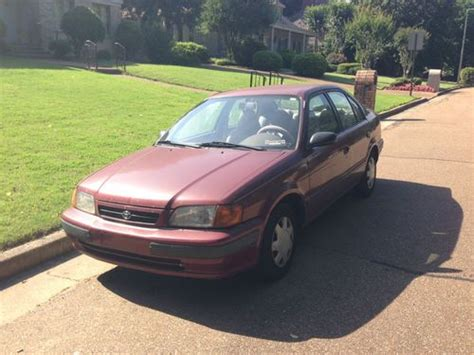 automotive air conditioning repair 1995 toyota tercel electronic throttle control sell used 1995 toyota tercel in germantown tennessee united states for us 1 800 00