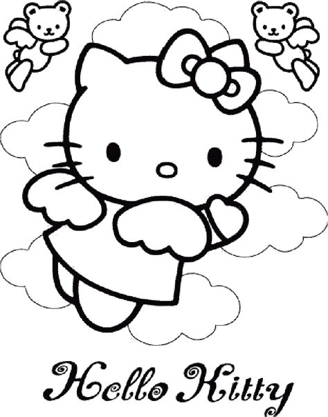 hello kitty angel coloring pages hello kitty angel coloring pages coloring