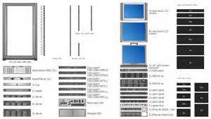 visio rack template rack units rack diagrams vector stencils library