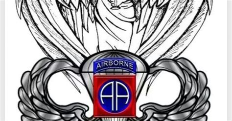 82nd airborne division tattoo tats pinterest 82nd