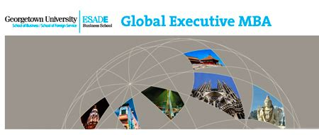 Executive Mba Esa by El Global Executive Mba De Esade Y Georgetown Entre Los 15