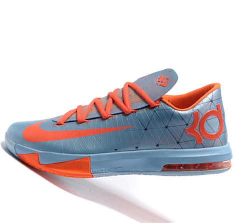 kevin durant nike basketball shoes nike kd6 orange kevin durant basketball shoes