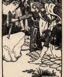 uncanny pic of the day rackham meets rossetti uncanny uk galahad robbins library digital projects