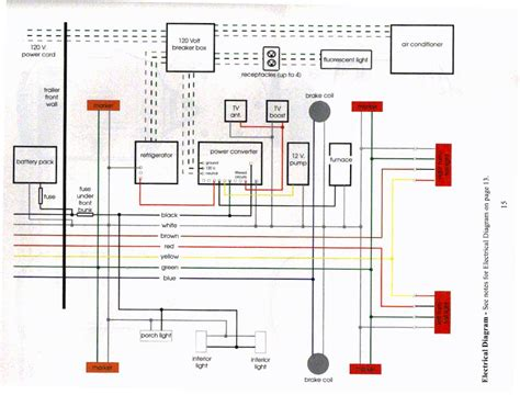 teardrop trailer for 12 volt wiring diagram wiring